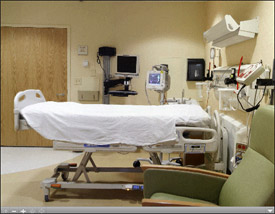 Neuroscience Center Patient Room Virtual Tour