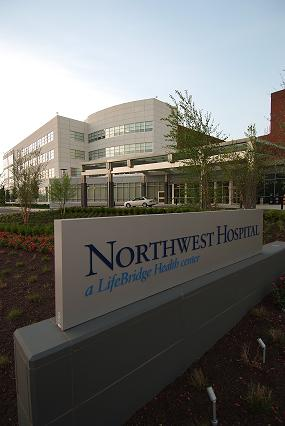 Northwest Hospital Location and Parking for the Breast Center